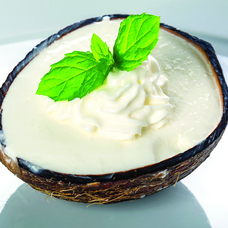 Coconut Cream Frozen